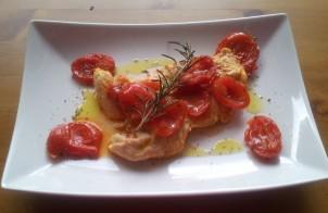 petto di tacchino con pomodori secchi