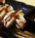 calamari con balsamico e maionese wasabi