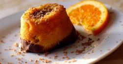 tortino soffice all'arancia
